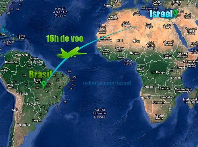 caravana para israel