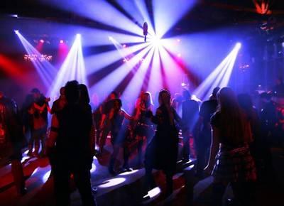 Tipos de Iluminação para festa ambiente fechado - boate