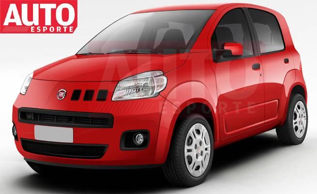 Fiat uno novo 2010 completo fotos