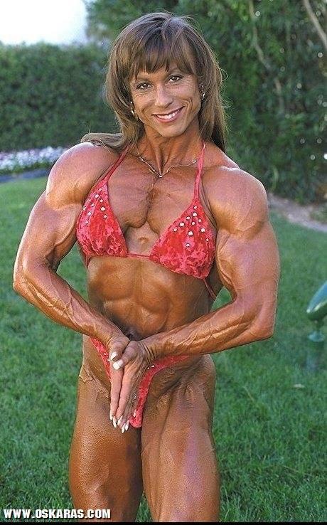 Mulheres fisiculturistas