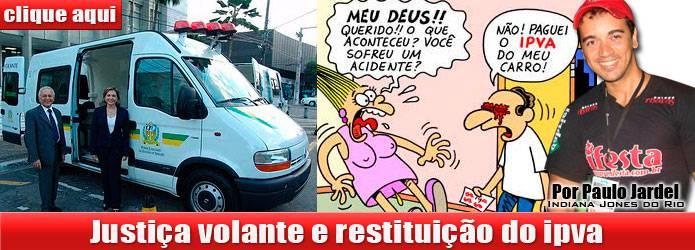 IPVA restituição - Justiça volante no Brasil