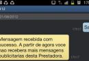 Cancelar sms propaganda claro tim oi vivo