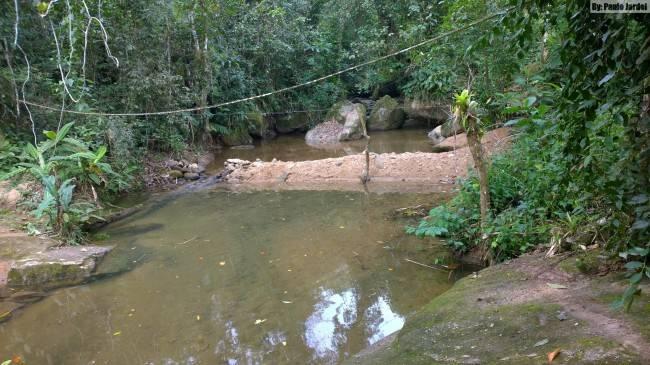 piscina natural em pousada