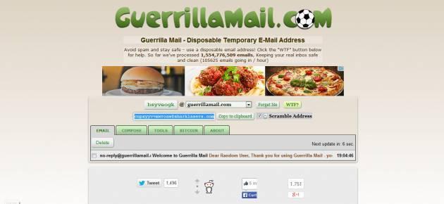 Enviar e-mail anônimo