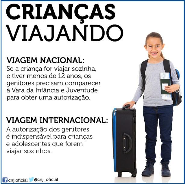 Adolescentes e crianças podem viajar sozinhos